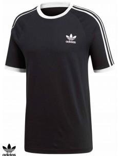 Adidas Skateboarding 3 Stripes Black T-Shirt