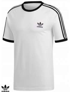 Adidas Skateboarding 3 Stripes White T-Shirt