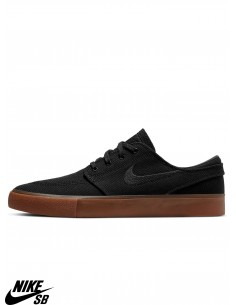 Shoes da Skate Nike SB Zoom Stefan Janoski Canvas RM Black