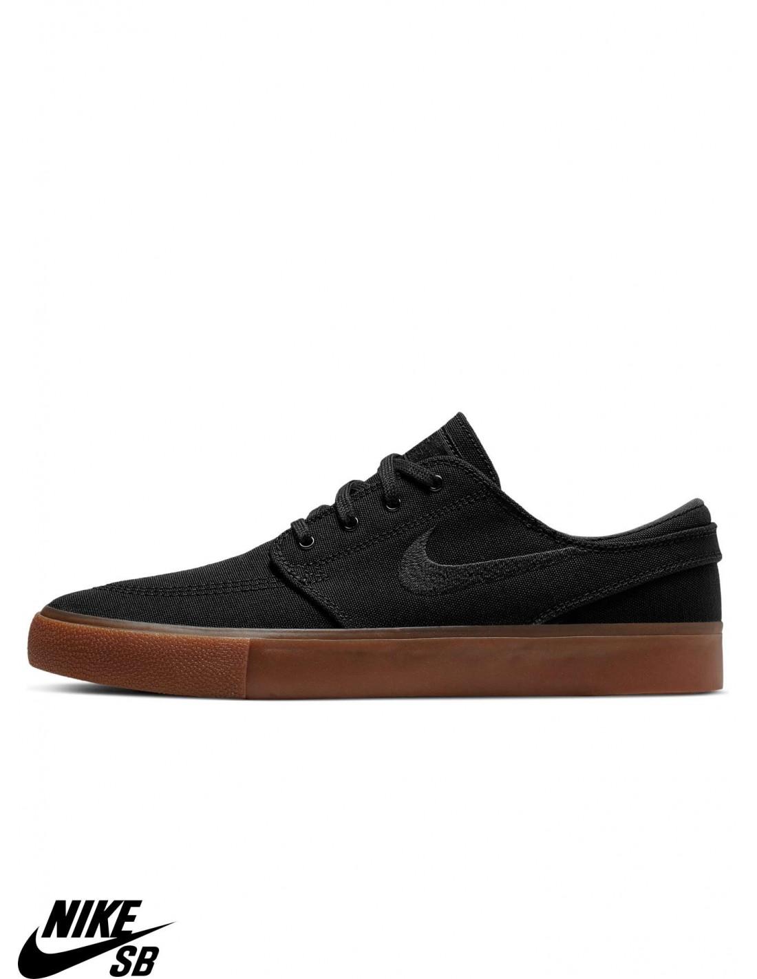 Chaussures Skate Nike SB Zoom Stefan Janoski Canvas RM Black