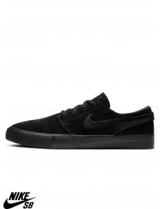 Shoes da Skate Nike SB Zoom Stefan Janoski RM Black Black