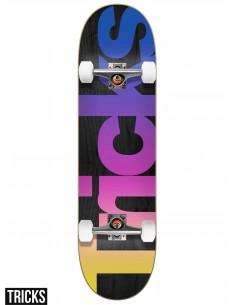 Tricks Multicolor 7.25 Complete Skateboard