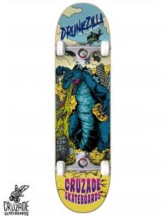 Cruzade Drunkzilla 8.25 Skate Completo