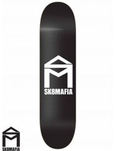 Tabla de Skate SK8MAFIA House Logo Black 7.75