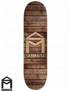 Tabla de Skate SK8MAFIA House Logo Wood 8.25