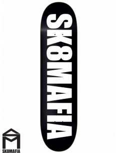 Tavole Skate SK8MAFIA Og Logo Black 7.6