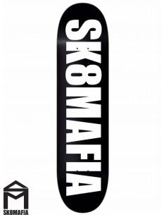SK8MAFIA Og Logo Black 8.0 Deck