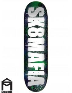 Tabla de Skate SK8MAFIA Og Logo Stencil 8.0