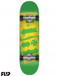 Flip Team Destroyer Green 6.75 Skate Completo