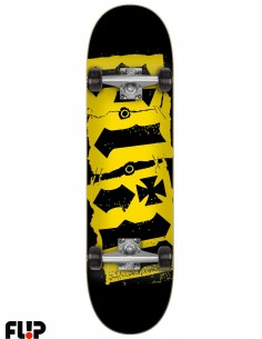 Flip Team Destroyer Black 7.5 Skate Completo