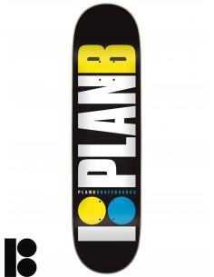 Planche de Skate PLAN B Team Og Neon 8.25
