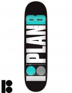 Tabua de Skate PLAN B Team Og Teal 7.75
