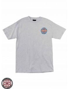 Camiseta Independent Spectrum Truck Co. Heather Grey