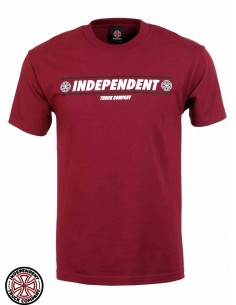 Camiseta Independent Shear Burgundy
