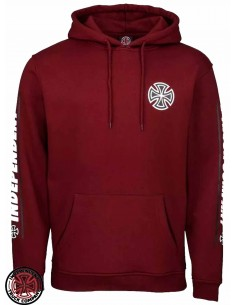 Independent Shear Burgundy Hoodie