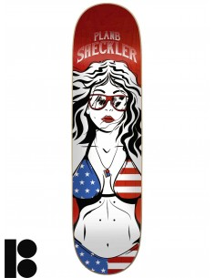 Planche de Skate PLAN B Sheckler Americana 8.25