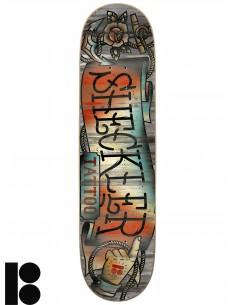 Tabua de Skate PLAN B Sheckler Store Front 7.75