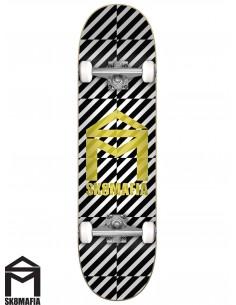 SK8MAFIA House Logo OP Yellow 7.75 Complete Skateboard