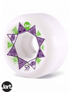 JART Skateboards Bondi Iluminati 58 Skate Wheels
