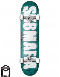 SK8MAFIA OG Logo Wall Green 8.25 Skate Completo