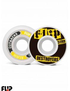 Rodas de Skate Flip Cutback 51