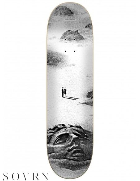 SOVRN Europe Ozymandias 8.0 Skateboard Deck