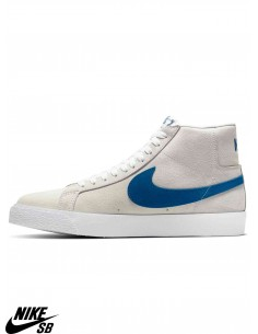 Chaussures Skate Nike SB Zoom Blazer Mid Team Royal