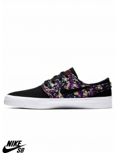 Nike SB Zoom Stefan Janoski Canvas RM Premium Black Skate Shoes