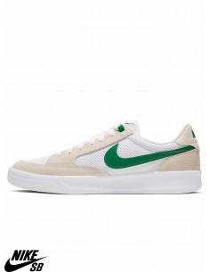 Chaussures Skate Nike SB Adversary White