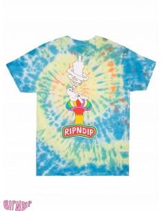 T-Shirt Ripndip Smoking Tie Dye