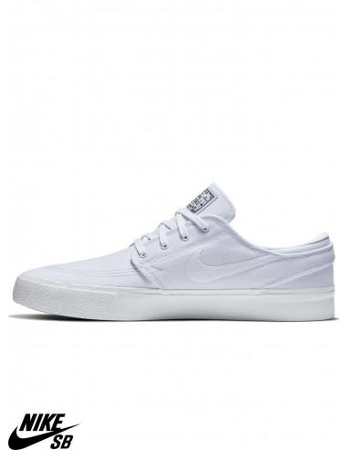 si ex Cincuenta  Nike SB Zoom Stefan Janoski Canvas RM White Skate Shoes