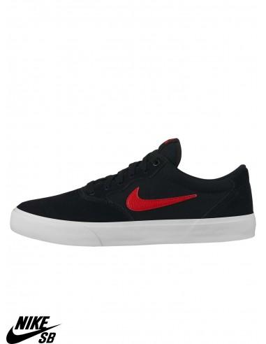Nike SB Solarsoft Chron Solarsoft Black Skate Shoes