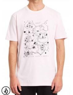 T-Shirt Volcom Briand Snow...