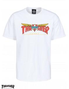 Thrasher Venture White T-Shirt