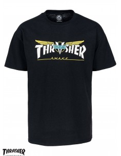 Thrasher Venture Black T-Shirt