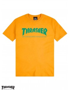 Camiseta Thrasher Mag Yellow