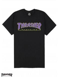 Thrasher Mag Black Purple...