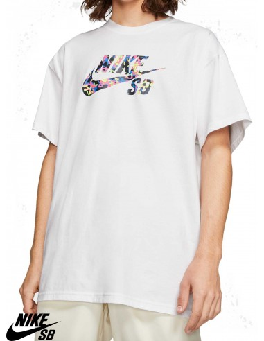 Nike SB Logo White T-Shirts