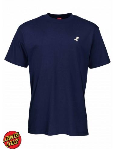 Santa Cruz Missing Dot Dark Navy T-Shirt