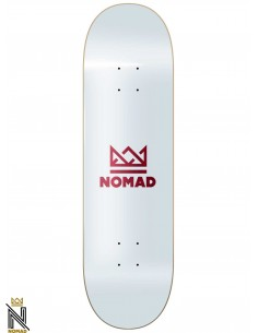 Nomad Skateboards Crown Burgundy 8.43