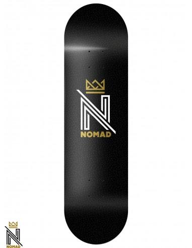 Nomad OG Logo Black 8.0 Skateboard Deck