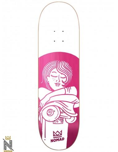 Nomad Boobies Pink 8.0 Skateboard Deck