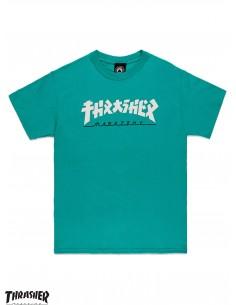 Thrasher Godzilla Jade T-Shirt