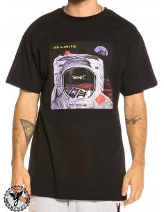 Grimey No Limits Black T-Shirt