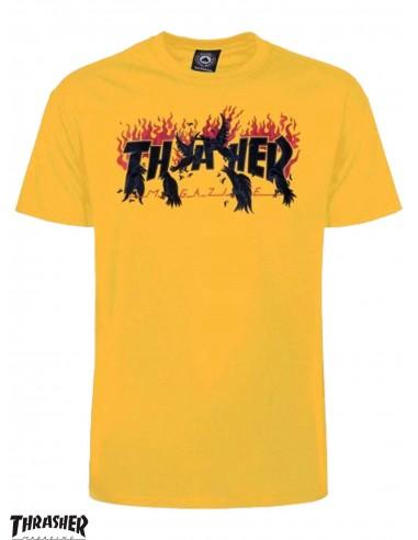 Thrasher Crows Gold T-Shirt