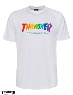 T-Shirt Thrasher Rainbow...