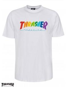 Thrasher Rainbow Mag White...