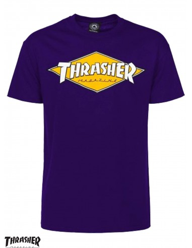Thrasher Diamond Purple T-Shirt