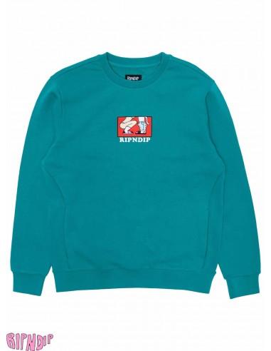 Ripndip Love Is Blind Teal Sweater