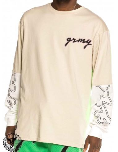 Grimey Strange Fruit Grey T-Shirt